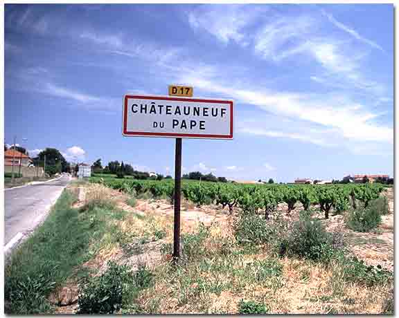 Chateauneuf-du-pape, France