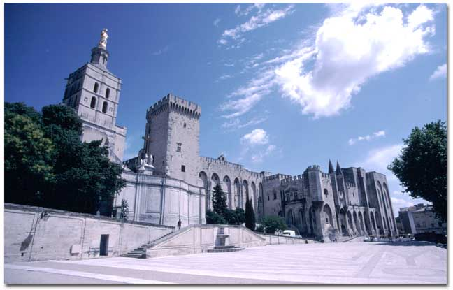 The Popes' Palace, Avignon, France
