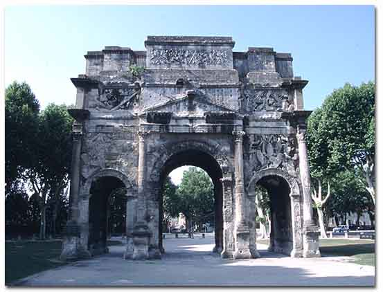 Arc de Triomphe, Orange, France