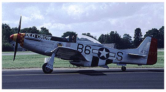 P51 Mustang - US WWII fighter plane